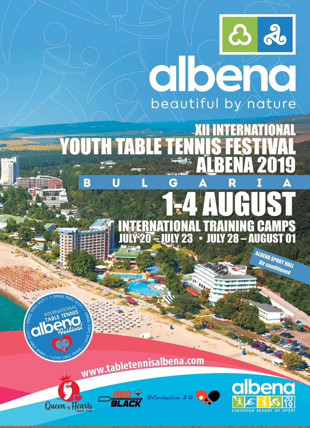 Festival Table Tennis Albena